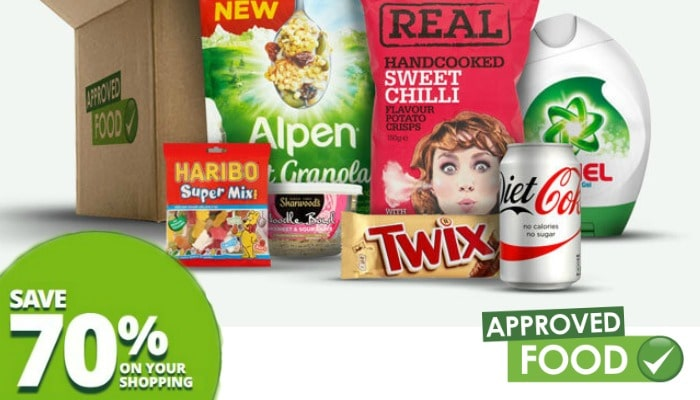 Saving money on the food shop is something we all want to do. By using Approved Food it can really bring costs down with savings of 70% vs a supermarket.