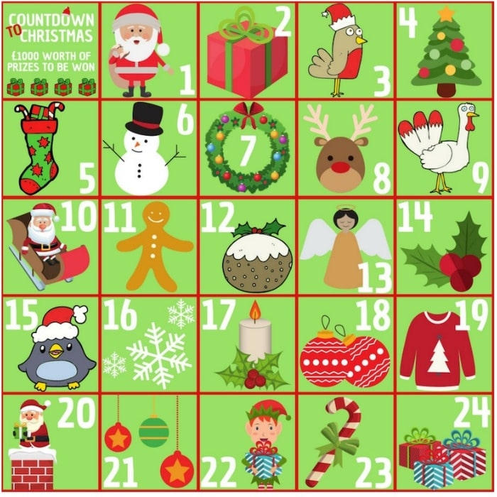 Christmas advent competition 2018