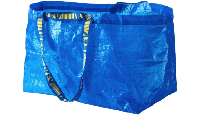 Ikea bags are better for shopping