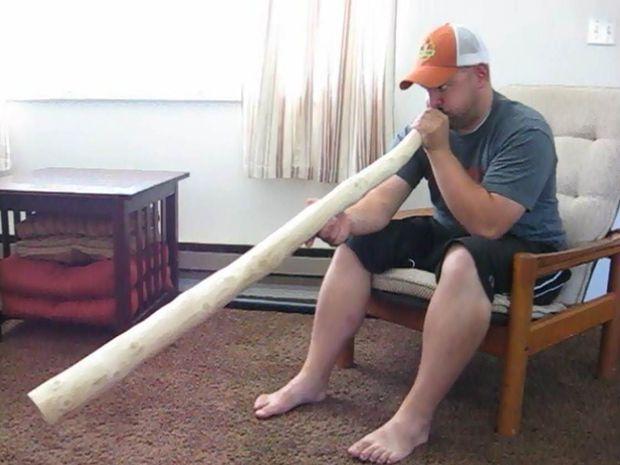Christmas Tree didgeridoo