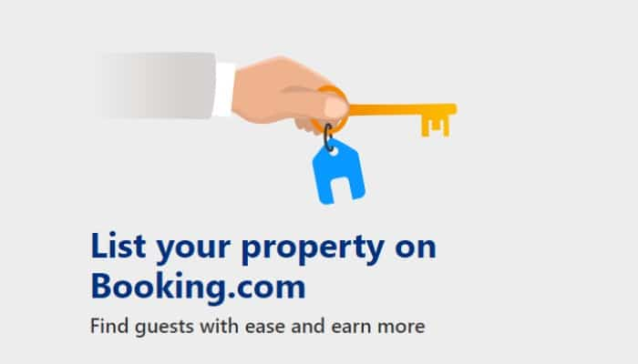 List your property on Booking.com