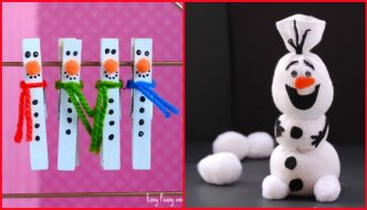 Super simply DIY Christmas decorations