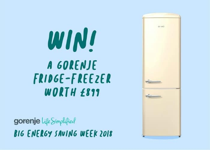 Win a fridge freezer