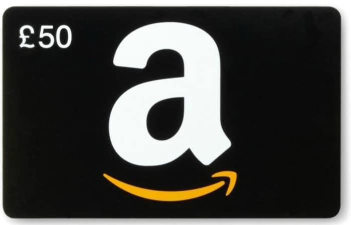 Win an Amazon UK gift card