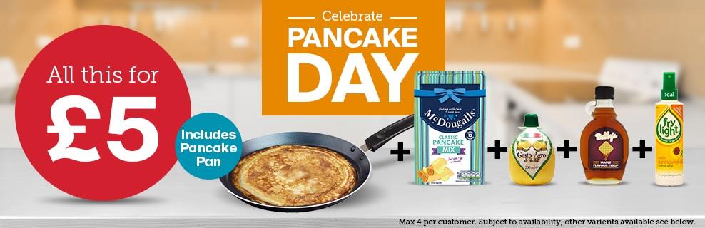Iceland Pancake deal