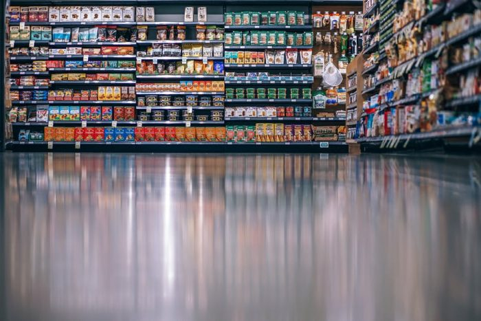 Head to a waste supermarket