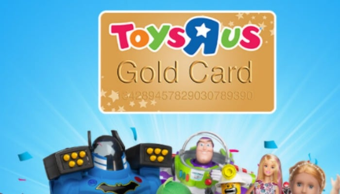 Offer valid in store only - get 20% off in Smyths Toys Superstore, with thanks to the Toys R Us Gold Card.