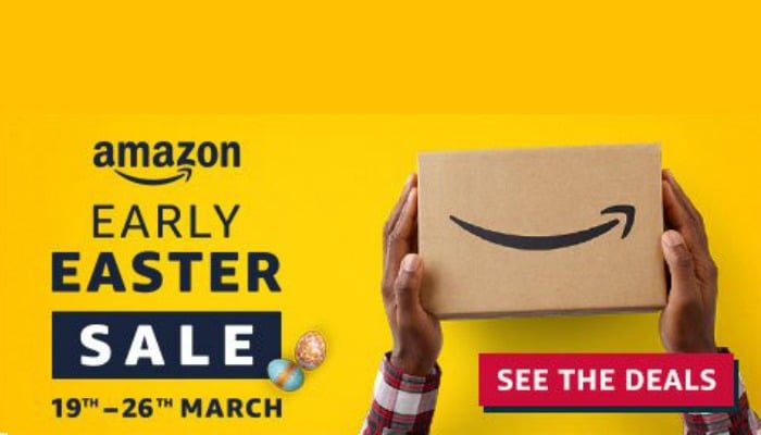 The Amazon.co.uk Early Easter Sale will run from 19th to 26th March, with great discounts on everything you need for spring, from Easter Eggs and Garden furniture to consumer electronics and Amazon devices. This year's Early Easter Sale is Amazon.co.uk's biggest ever Easter sale event. Small businesses, innovative start-ups and artisans selling on Amazon Marketplace and Handmade at Amazon will offer a great range of deals in the Early Easter Sale