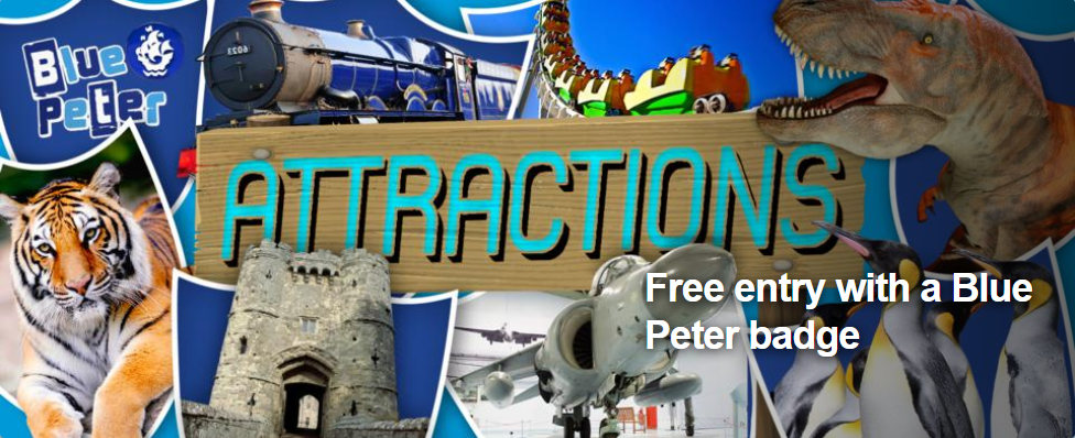 Blue Peter free entry attractions