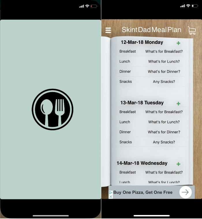 Meal Planner Pal meal planning apps