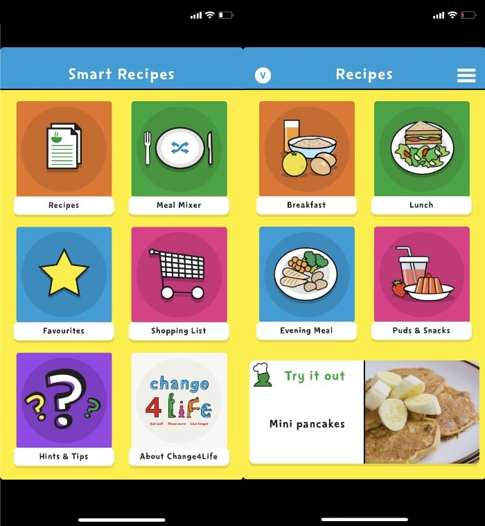 Smart Recipes meal planning apps