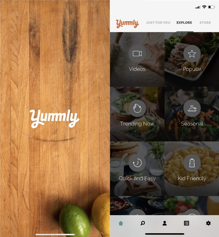Yummly meal planning app uk