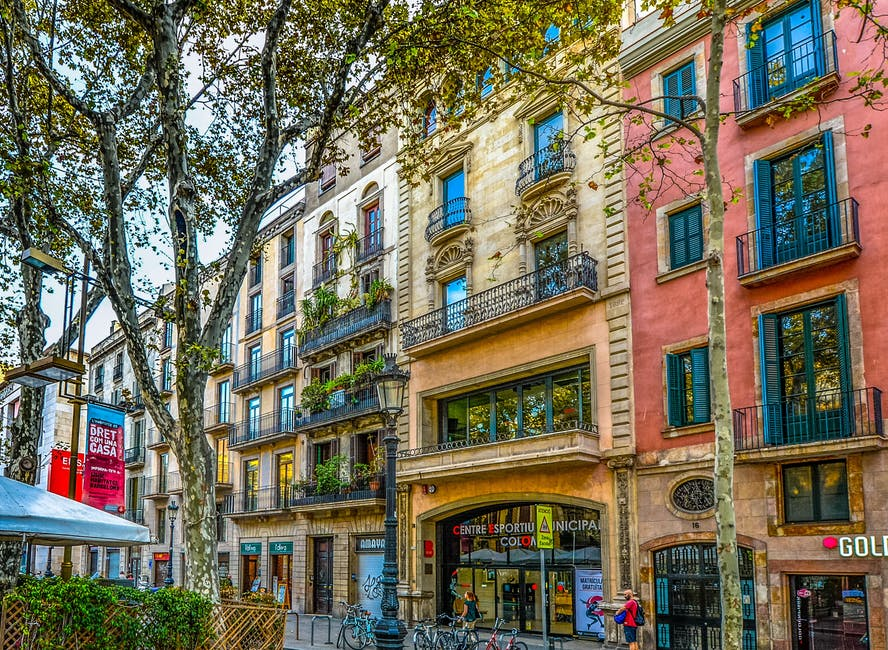 Barcelona for a family holiday