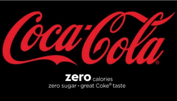 Free coca-cola zero sugar