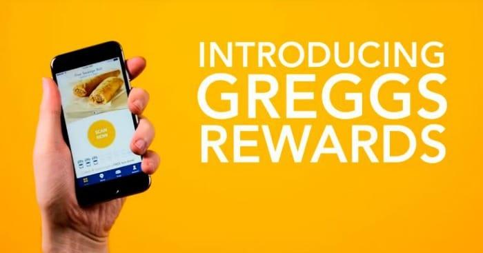 Greggs reward app
