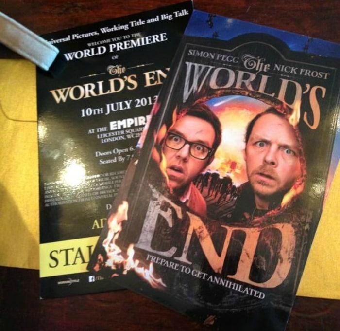 World's End Premier Tickets