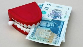 money teeth