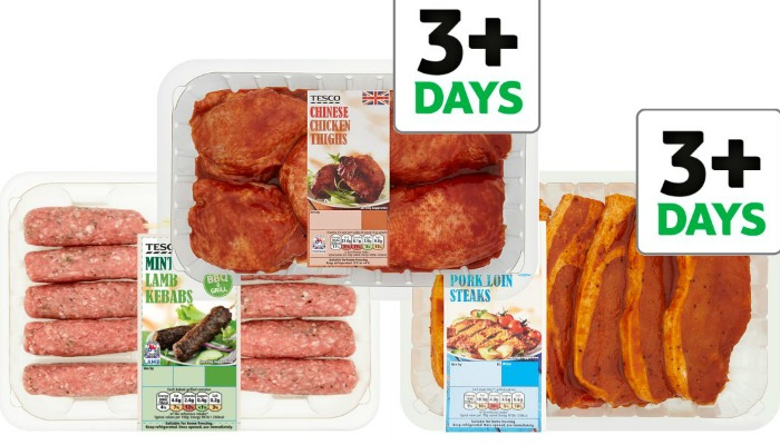 BBQ meat on offer at Tesco