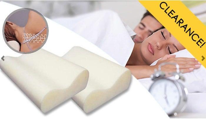GoGroopie antisnore pillow offer