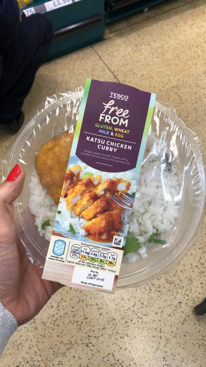 Tesco Free From on offer