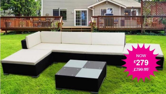 Wowcher cheap garden furniture
