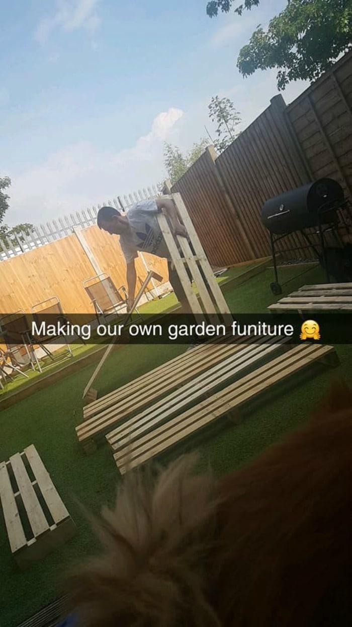 diy pallet garden furniture
