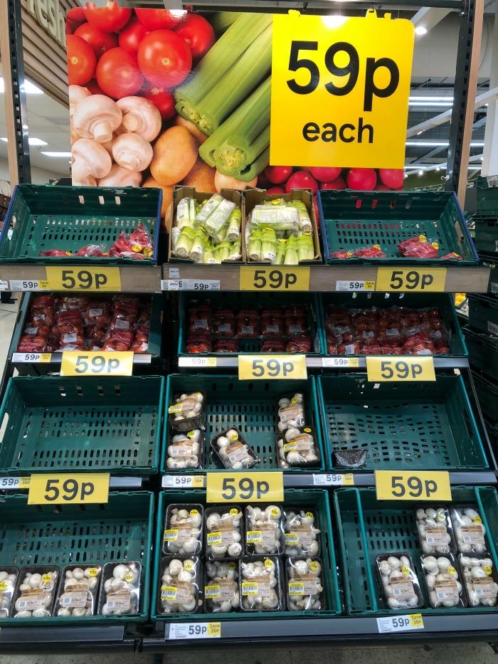 fruit and veg offer Tesco