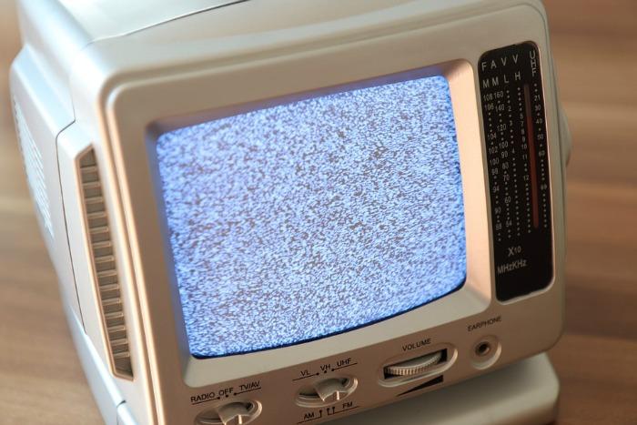 white noise on TV