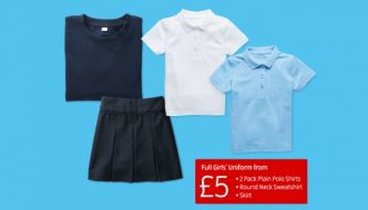 Aldi school uniform 2018 for girls