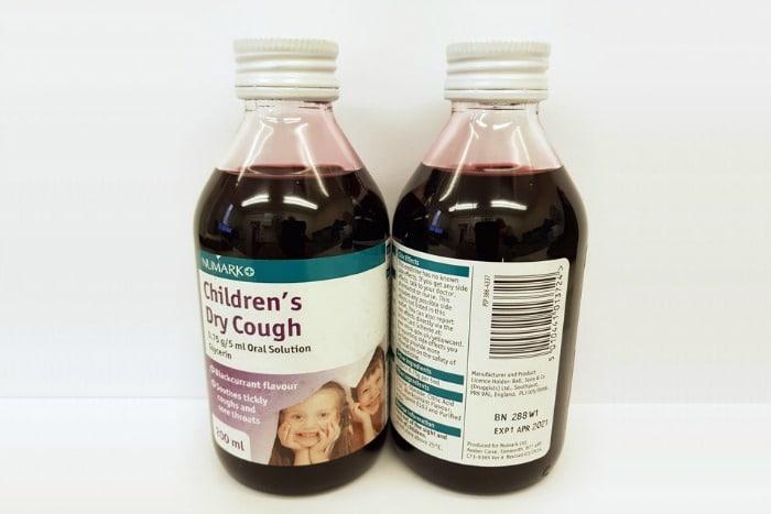 Numark cough syrup