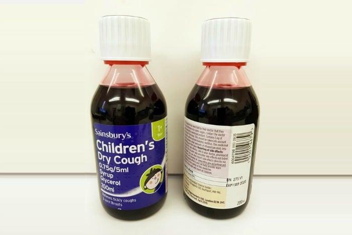 Sainsburys cough syrup