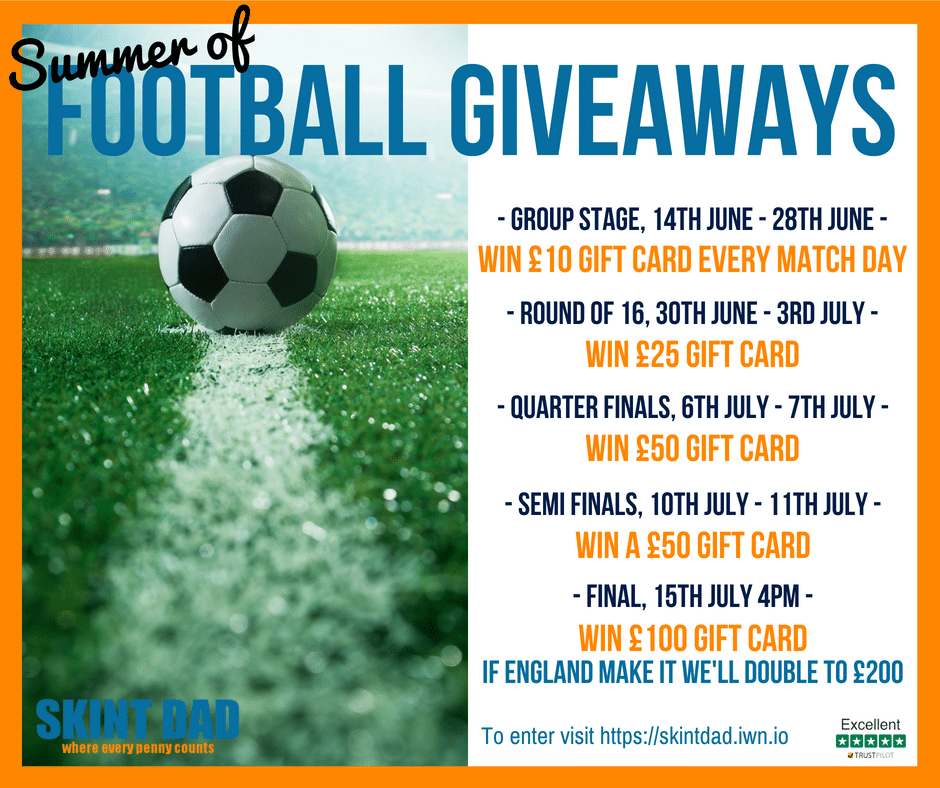 Skint Dad WORLD CUP GIVEAWAY