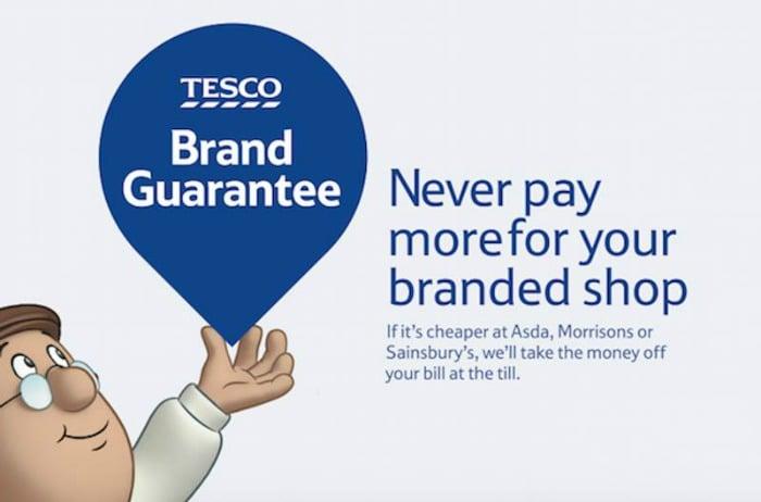 Tesco Brand Guarantee