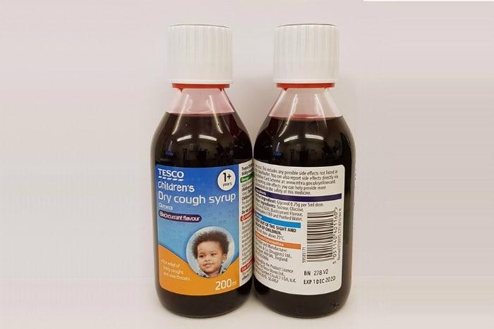 Tesco cough syrup