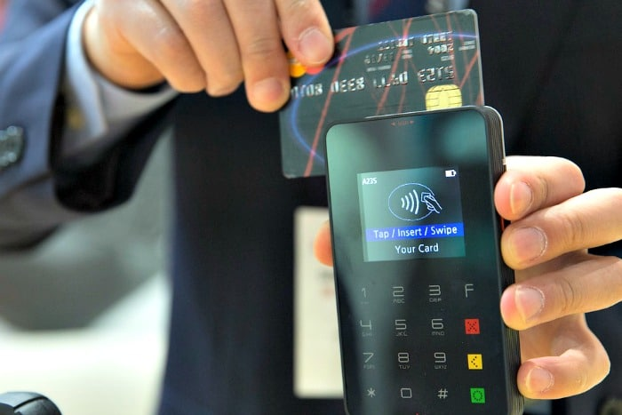credit card contactless