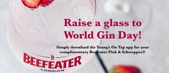 free gin world gin day