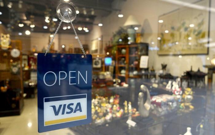 visa open sign