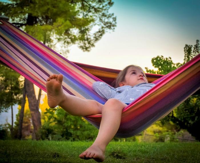 child in summer