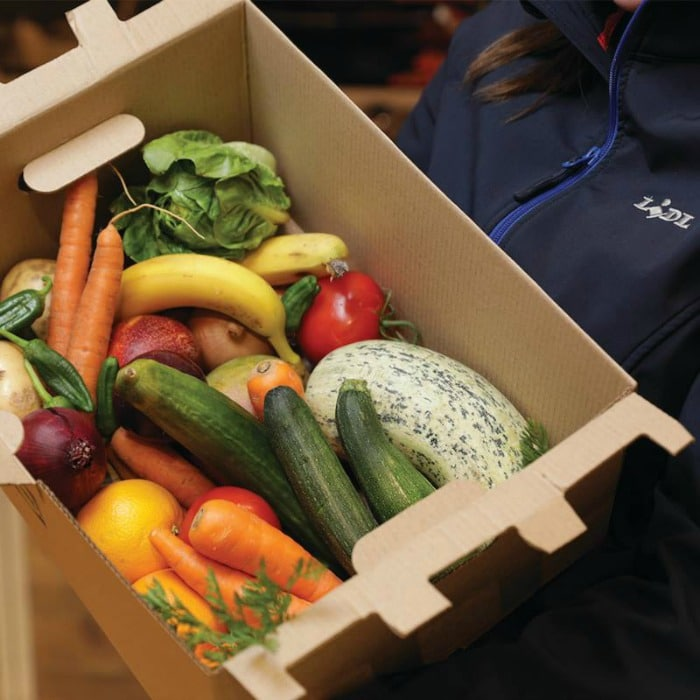 Lidl fruit and veg boxes