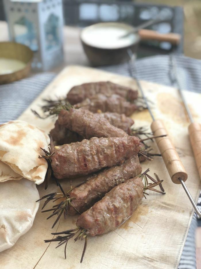 BBQ lamb kofta