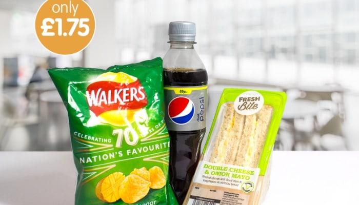 B&M Bargain Meal Deal