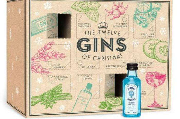 B&M gin advent calendar