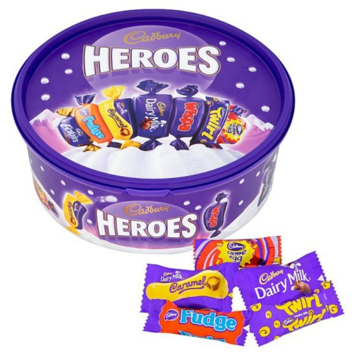Casburys Heroes - cheap selection tub
