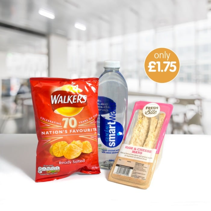 Ham & Cheese Mayo Meal Deal