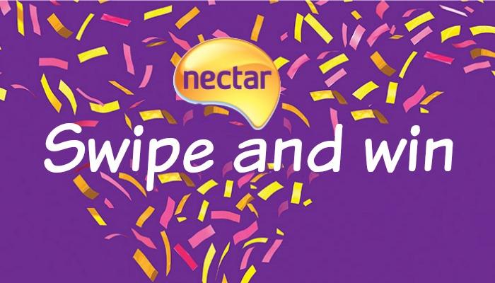 Nectar Swipe and Win Sainsburys