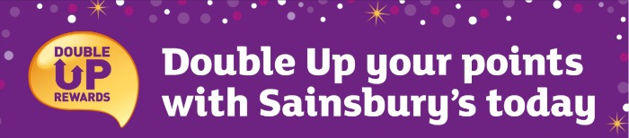 Sainsbury's Double Ip with Nectar points
