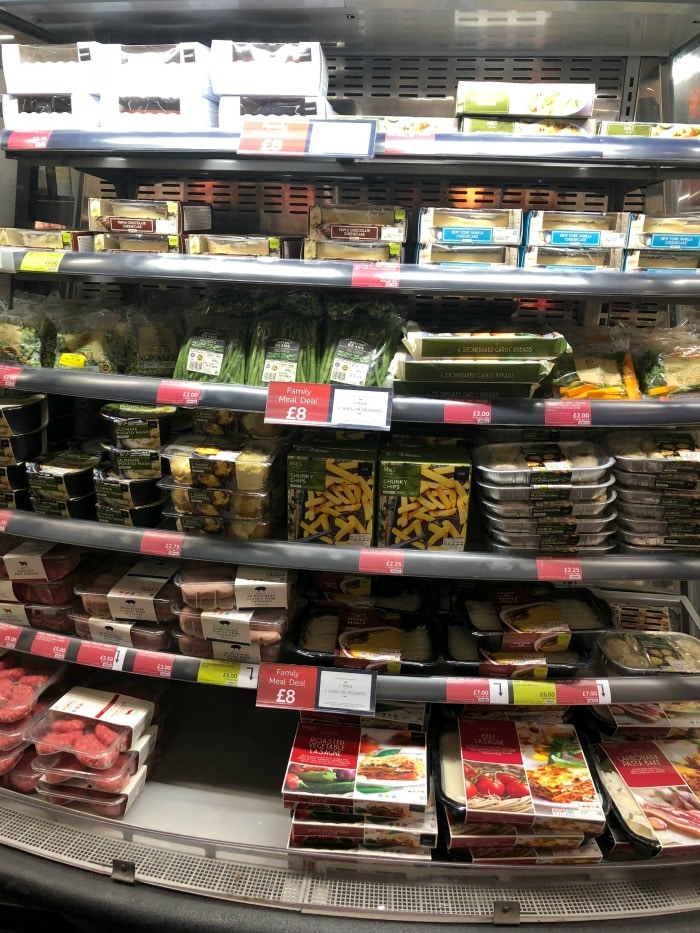 M and S Family Meal Deal