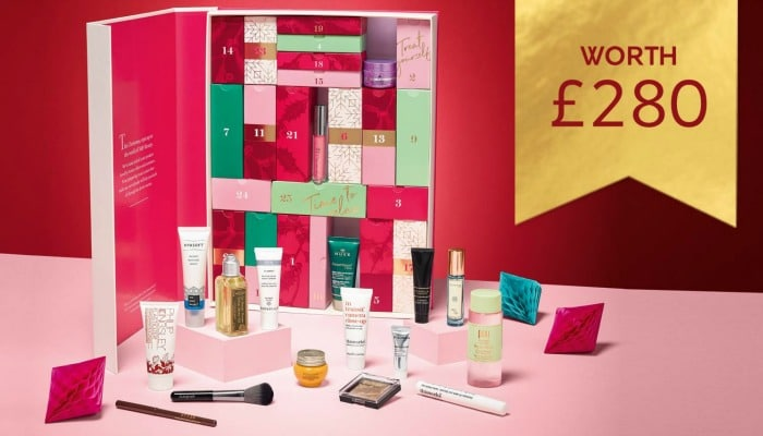 M&S cheap beauty advent calendar