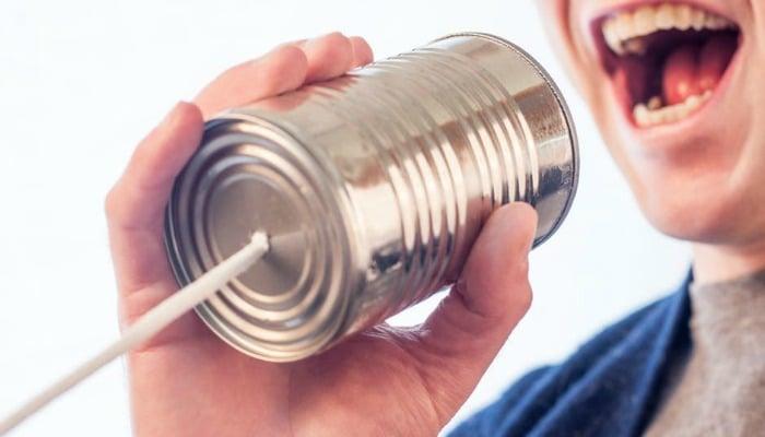 shouting communication