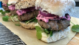 lamb burger recipe